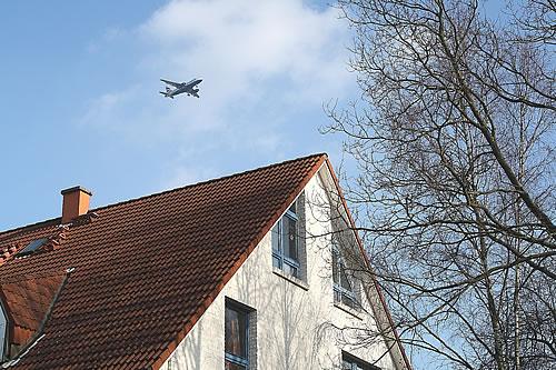 Fluglärm im Alstertal