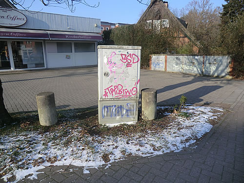 Graffitischmierereien