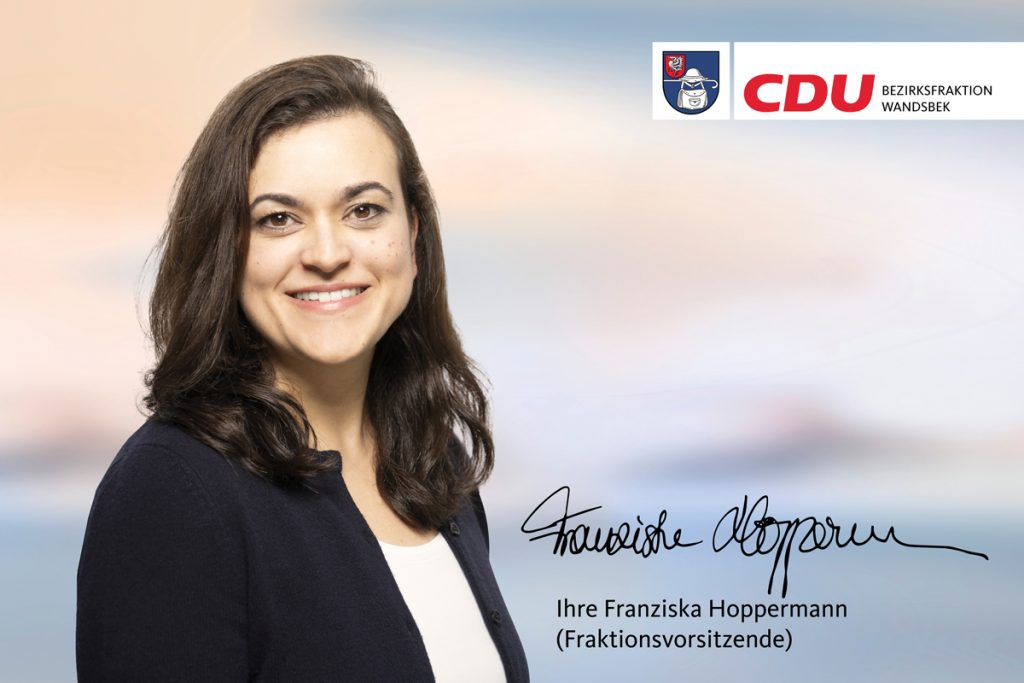 Franziska Hoppermann CDU-Bezirksfraktion